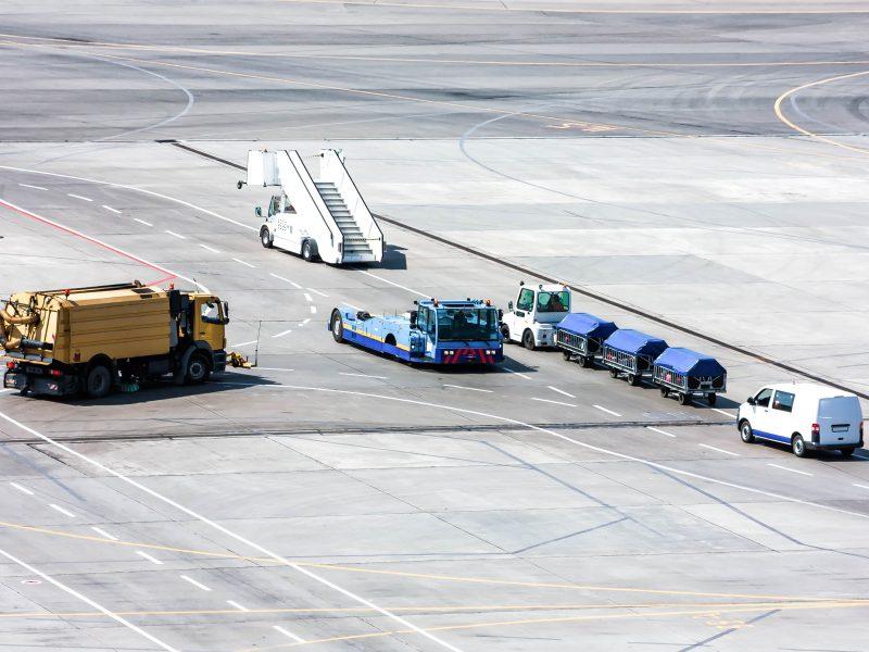 Hong Kong International Airport - GSE Demand