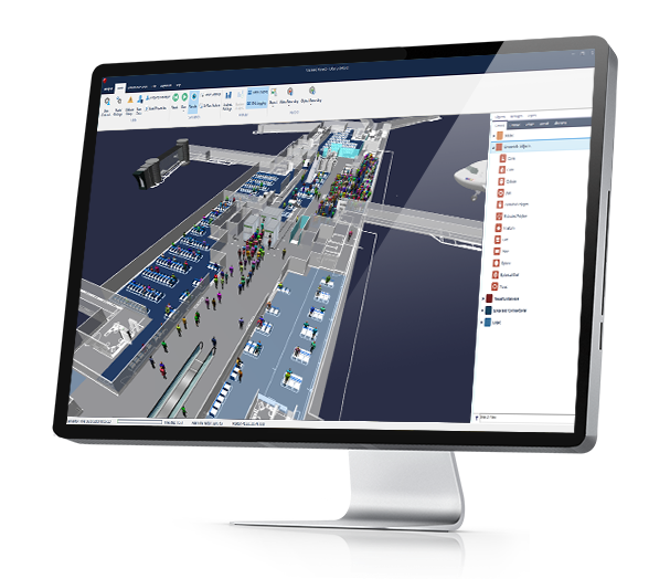 CAST Terminal Simulation Software