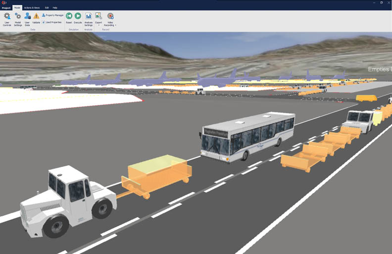 CAST Vehicle Simulation Ground handling