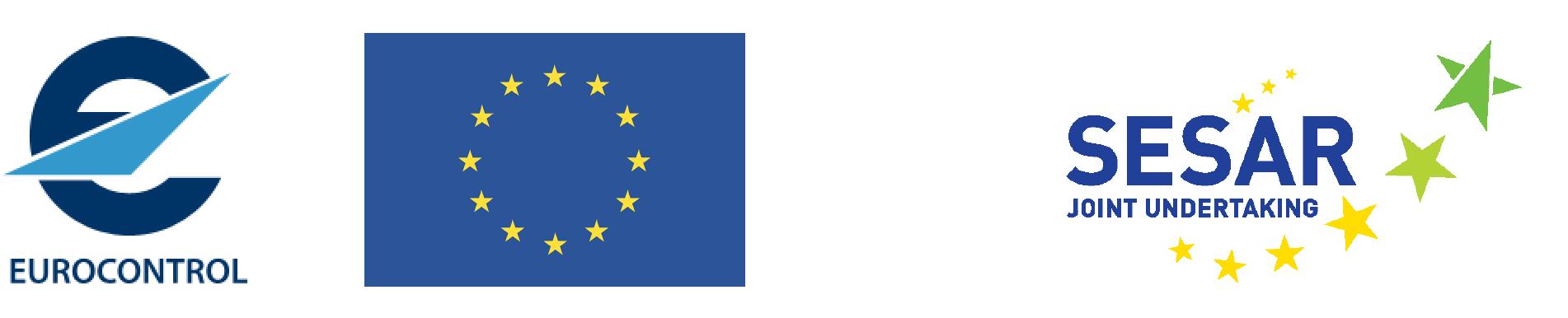 Eurocontrol, EU, Sesar Logo