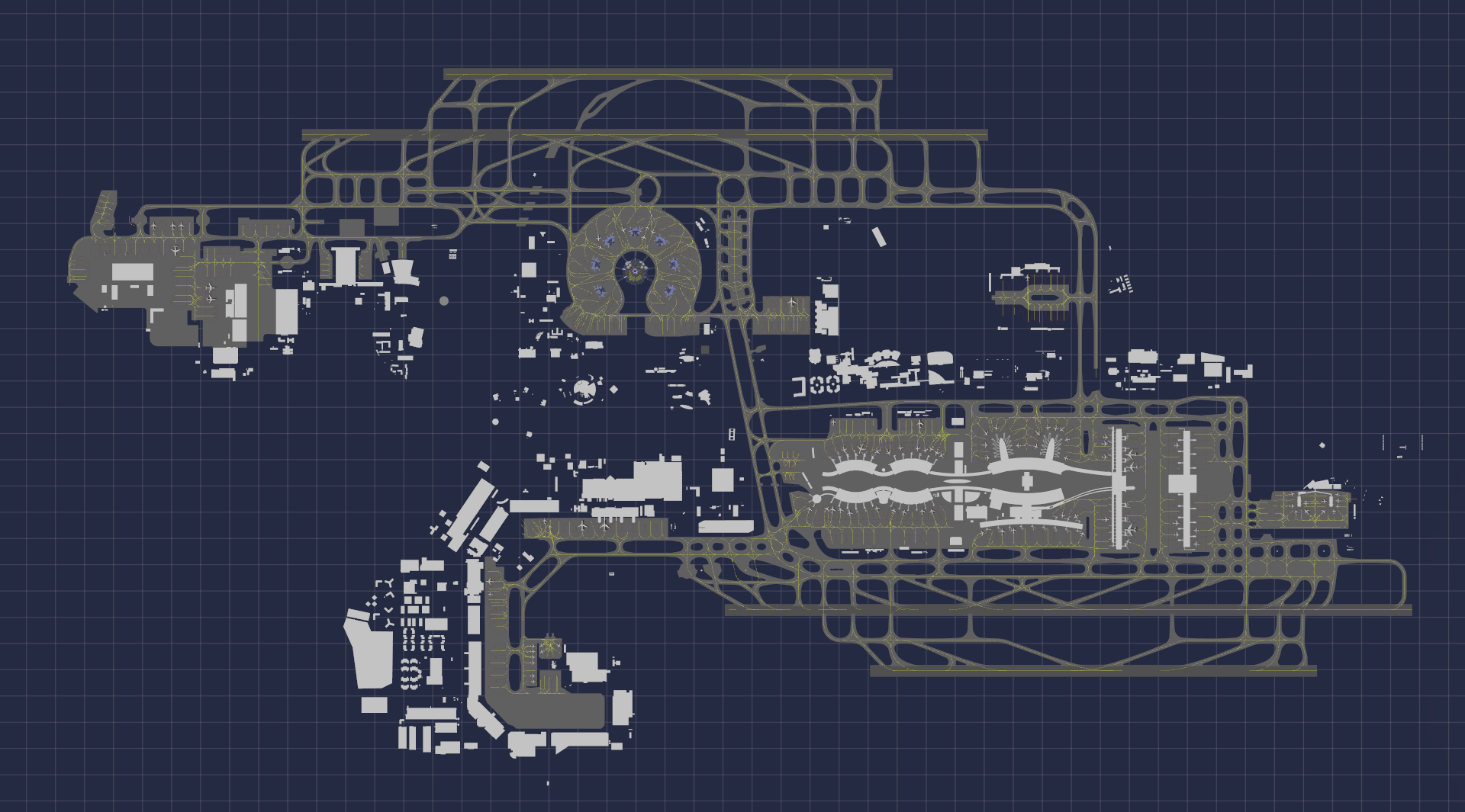 Airside Simulation CDG
