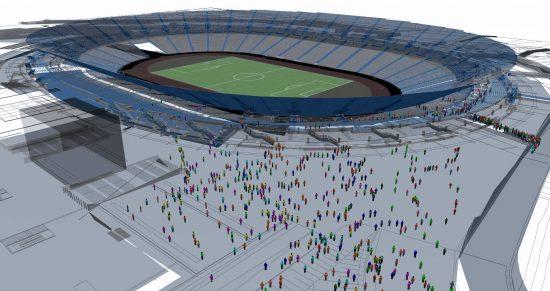 CAST Stadium Simulation