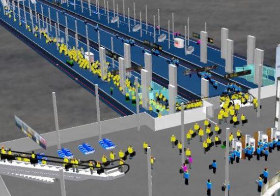 Train-Station-Simulation-CAST
